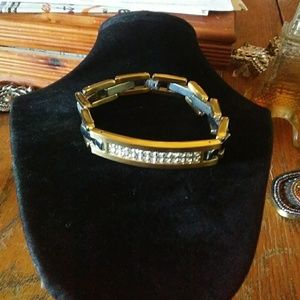 Other - MENS CUBIC ZIRCONIA. BRACELET